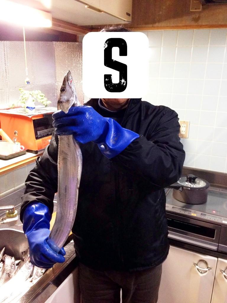 太刀魚と父