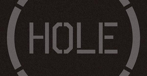 HOLEロゴ