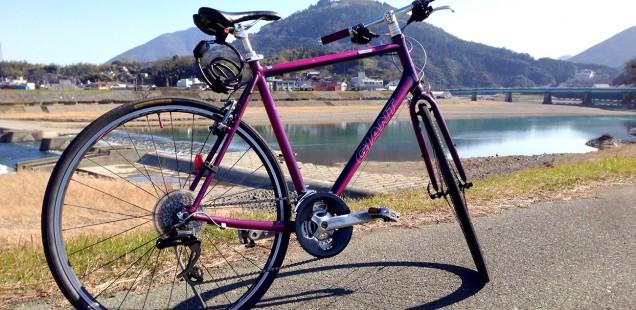 私の自転車