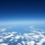 衛星写真の空