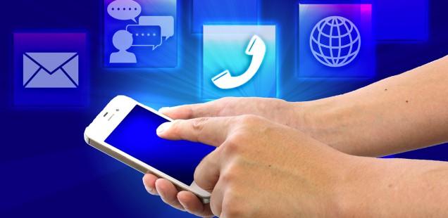 スマートフォンとアプリ