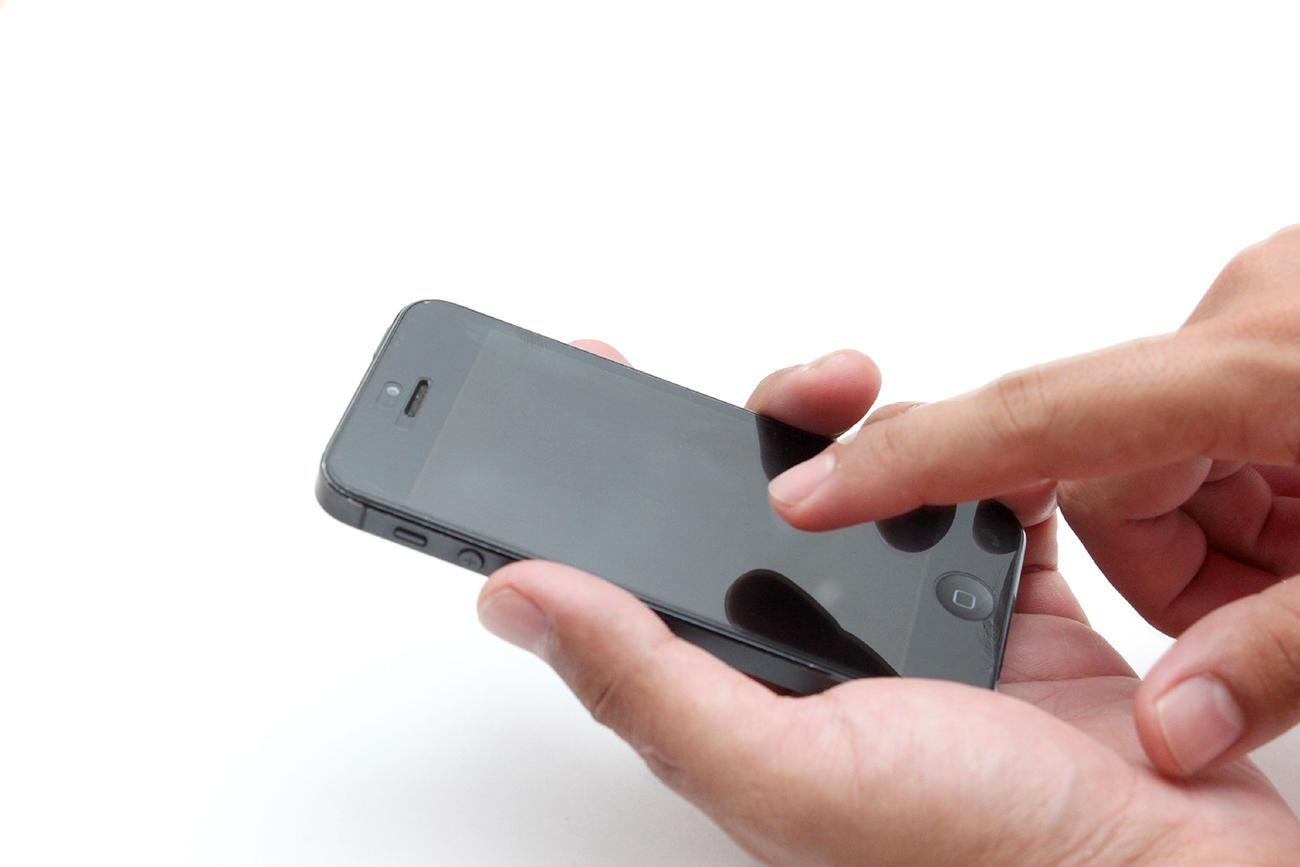 スマートフォン操作