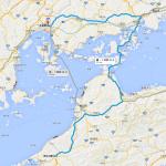 愛媛〜広島 Googleマップ