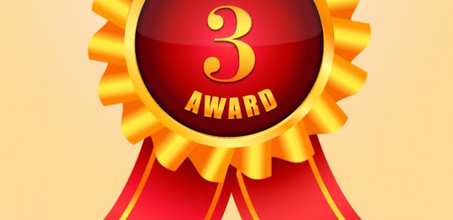 3位入賞のメダル