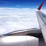 Jetstarから見た上空