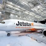 Jetstarの飛行機