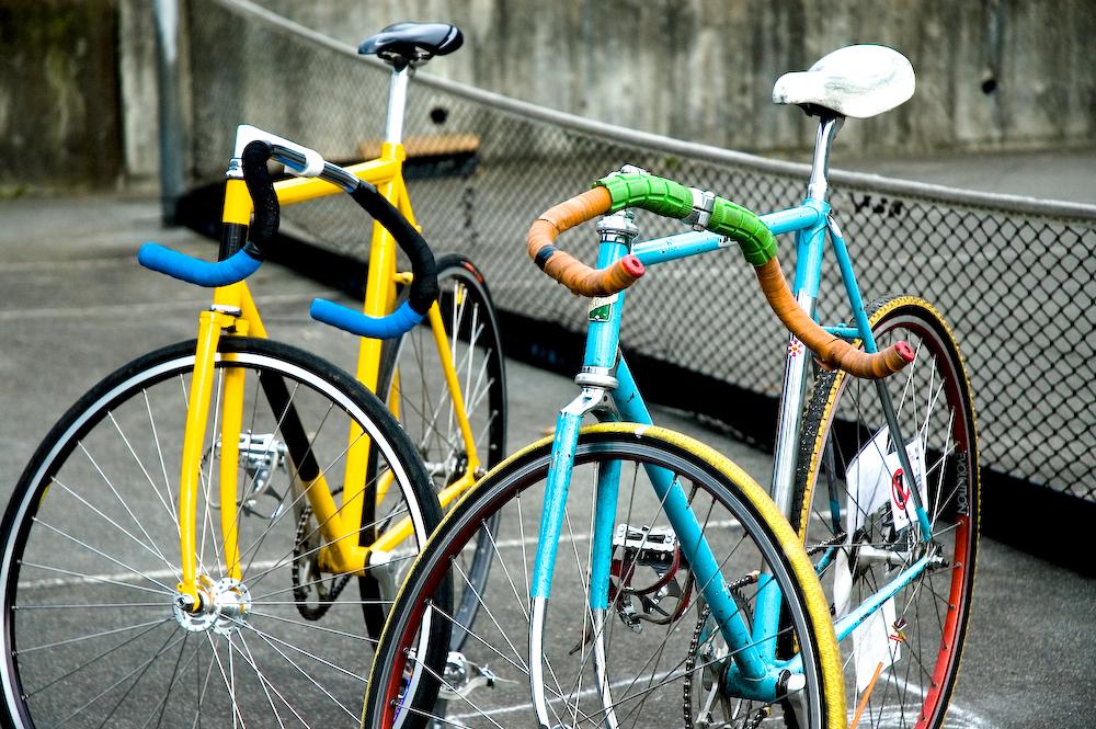 2台のロードバイク