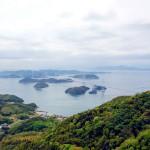 亀老山展望台から見たしまなみ海道