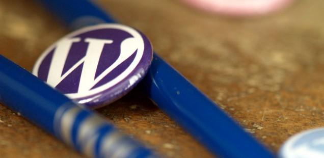 WordPressの缶バッジ