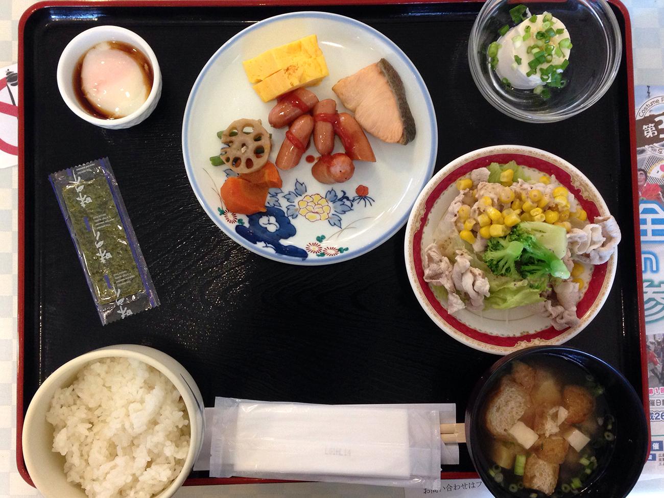 尾道第一ホテルのモーニングビュッフェ