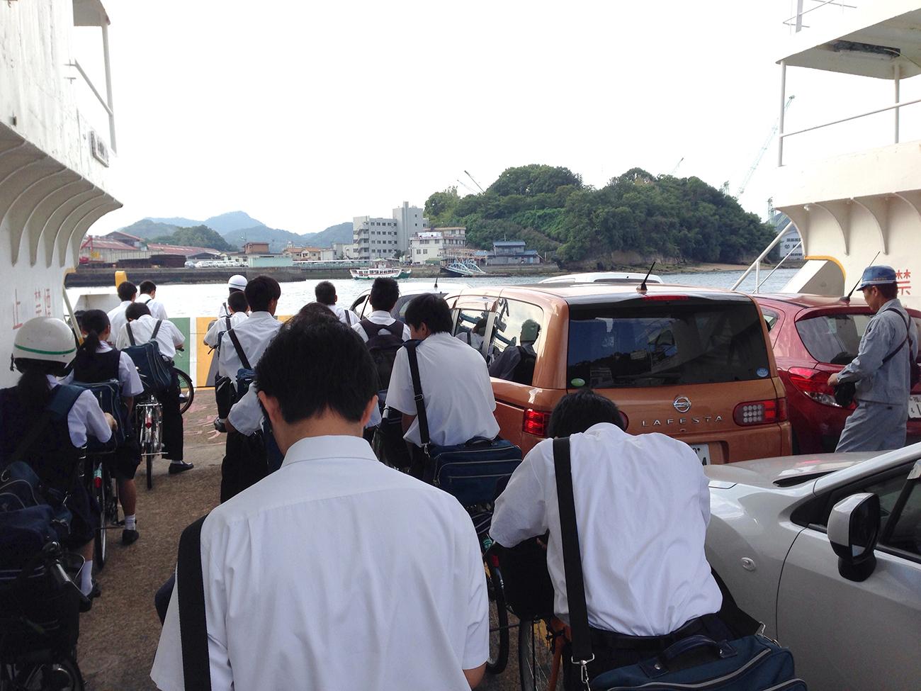尾道渡船フェリー
