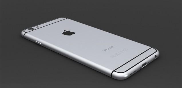 iPhone 6の背面
