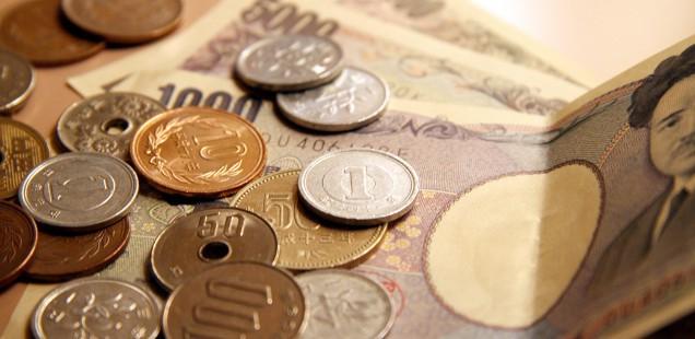 日本のお札と硬貨