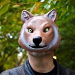 キツネのマスク