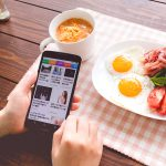 ニュースアプリと朝食